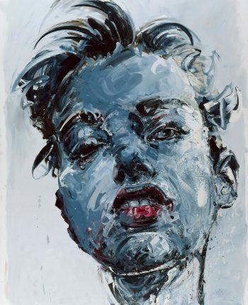 Lila - 2010 - Huile sur toile, 280x220 cm